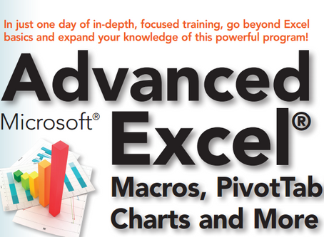Introducing Advanced Excel® Transition to Power User!