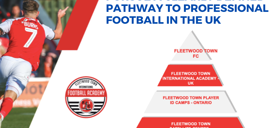 PURSUE A CLEARLY DEFINED PATHWAY TO PROFESSIONAL FOOTBALL (SOCCER) IN UK