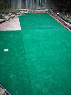 MINI PUTTING GREEN- IN PROCESS