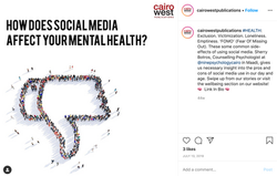 a social media post for a health article