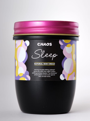 Label Text for CHAOS Sleep Skin Cream