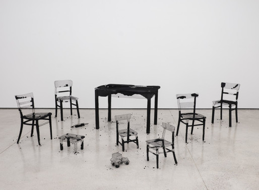 Mona Hatoum, Remains of the Day, 2016-2018