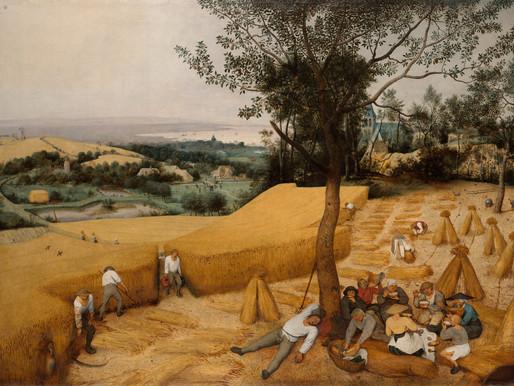 The Harvesters, Pieter Bruegel the Elder, ca. 1525–1569