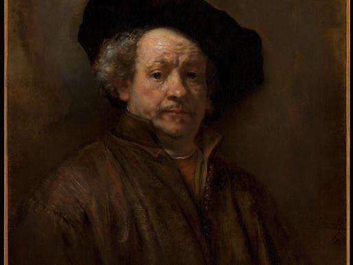 Rembrandt, Self-portrait, 1660
