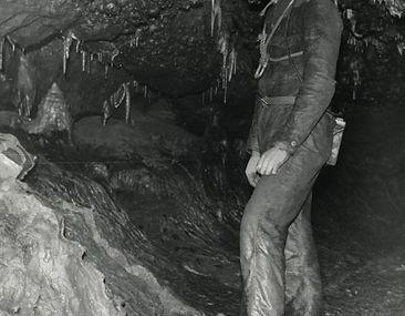 Barry Saxton, Main Passageway Carlswark Cavern, Stoney Middleton.