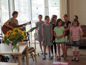 Musik in der Caritas Senioren Tagesstätte