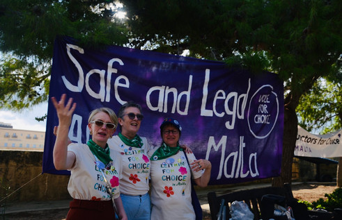 Malta First Rally for Choice 28 September 2019