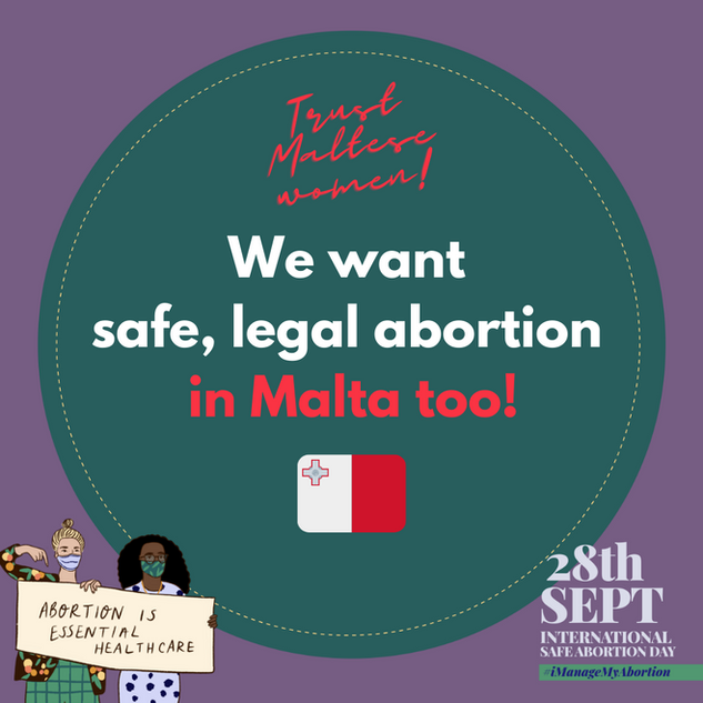 Safe Abortion Day 2020 Malta
