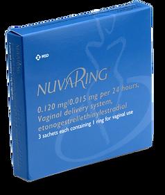 Nuvaring box