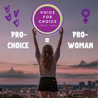 Pro-choice means pro-woman Malta