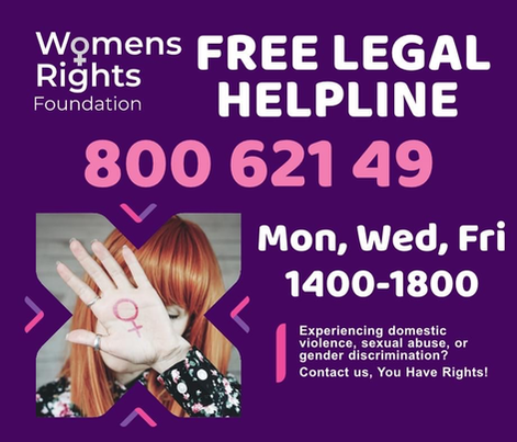 Women's Rights Foundation Malta legal helpline