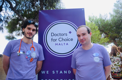 Malta First Rally for Choice 28 Septembe