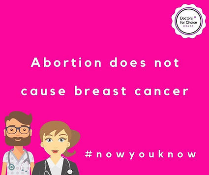 Abortion does not cause breast cancer
