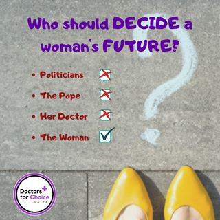 Who should decide a woman's future