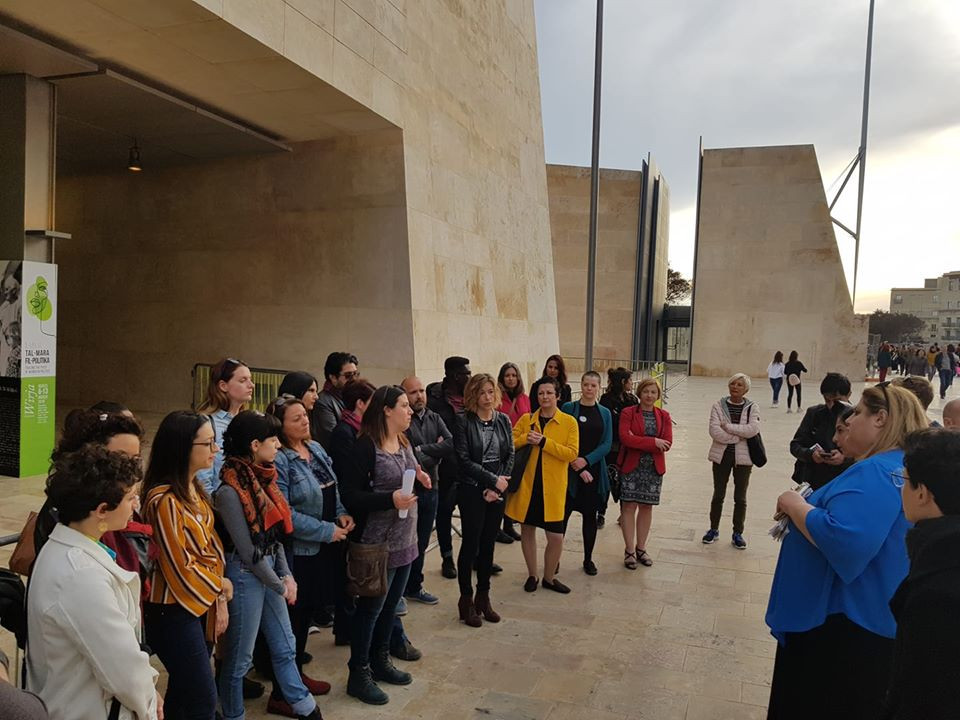 Voice for Choice launch in Valletta Malta