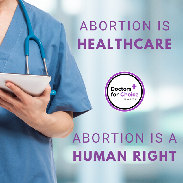 Abortion is healthcare Abortion is a hum