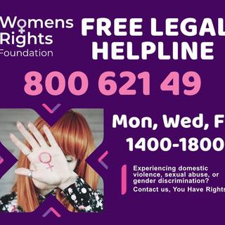 WRF legal Helpline