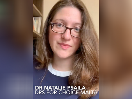 Dr Natalie Psaila: Why I'm Pro-Choice