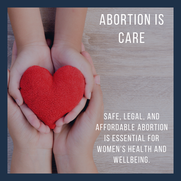 Abortion is care