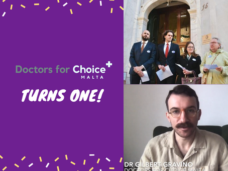 Doctors for Choice turns 1!
