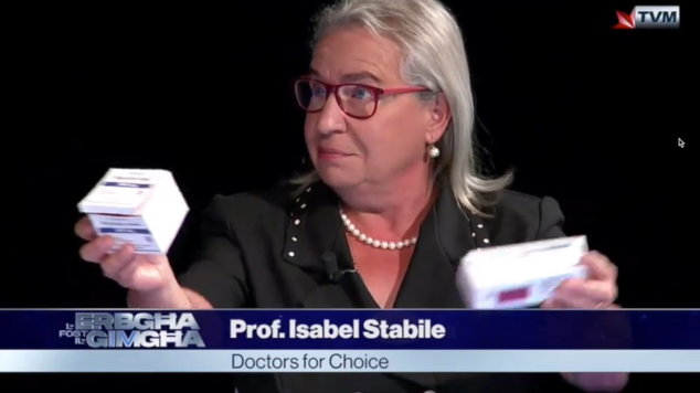 Prof Isabel Stabile on TVM 14.10.2020