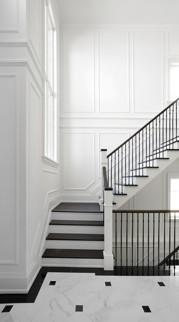 Elegant Classic Staircase