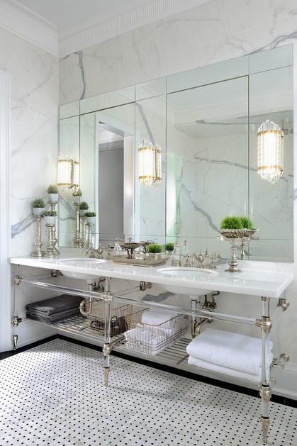 Opulence in a Vanity