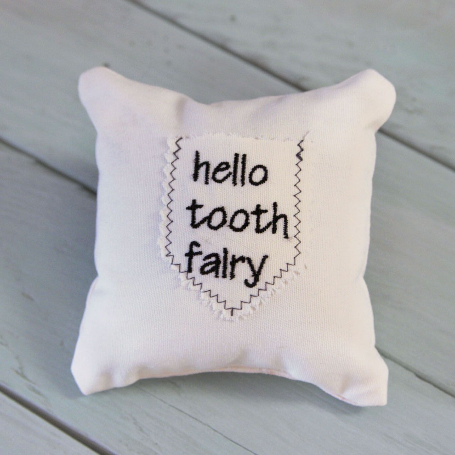 Tooth Fairy Mini Pillow