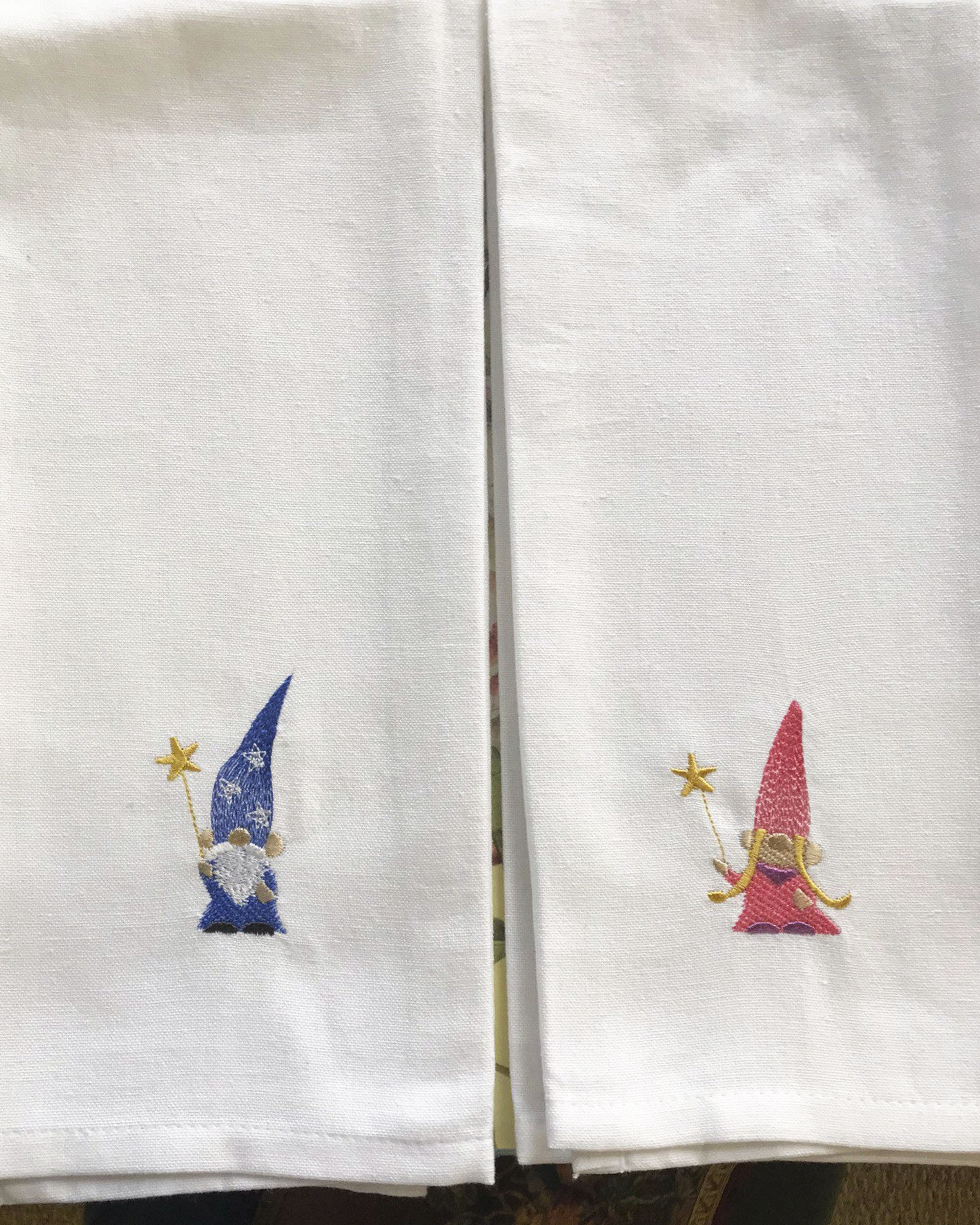 Gnome Wizard Tea Towels