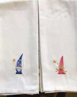 Gnome Wizard Tea Towels