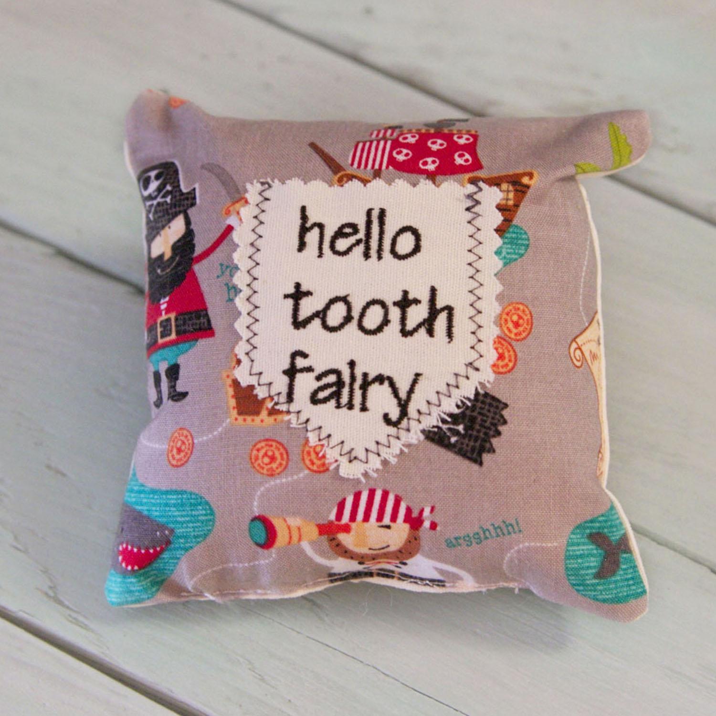 Tooth Fairy Mini Pillow-Pirates