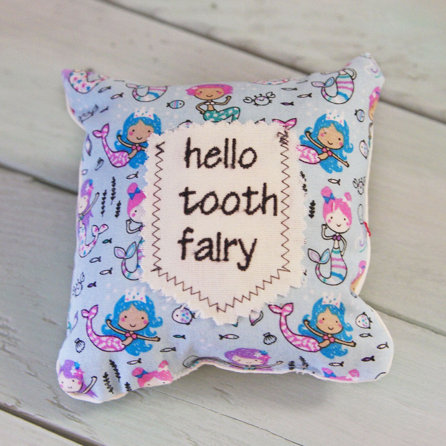 Tooth Fairy Mini Pillow-Mermaids