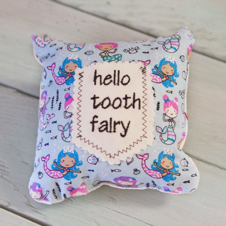 Tooth Fairy Mini Pillow-Mermaids