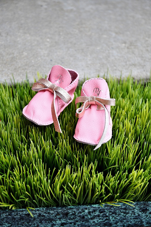 Baby Pink/Rose Gold Booties
