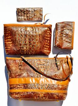 Copper Croco Collection