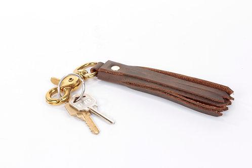 Leather Keychain Tassel