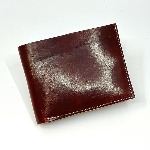 Burgundy Bi-Fold Wallet