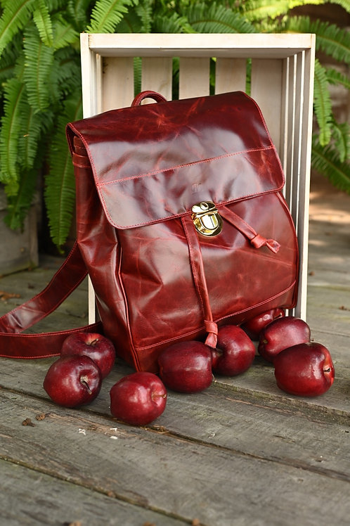 Red Riley Backpack
