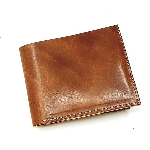 Buck Brown Bi-Fold Wallet