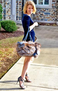 Fox Fur Shoulder
