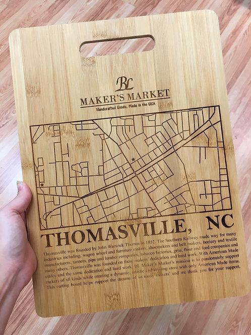 BL Maker's Market Bamboo Cutting Board