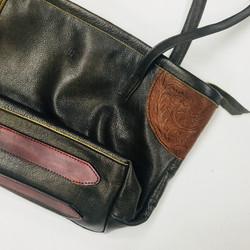 Green/Brown Shoulder Bag