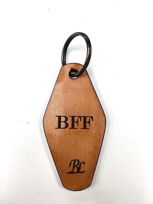 Tan BFF Hotel Key