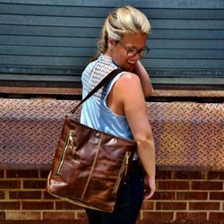 Dark Brown Jane Bag