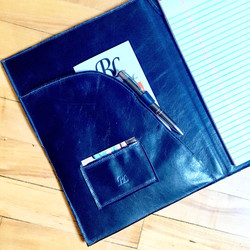 Navy Legal Pad Book