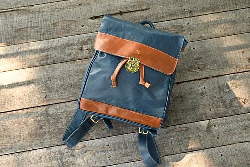 Navy/Heritage Riley Backpack