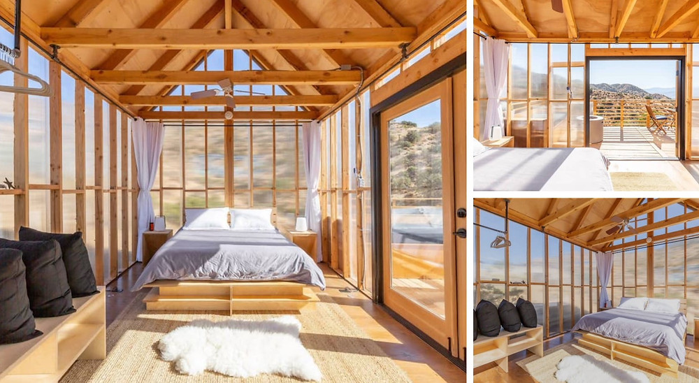 Modern Cabin - Airbnb with mountain views