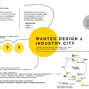 Wanted Design x Industry City