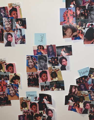 This collage exercise represents the themes this book touches on.