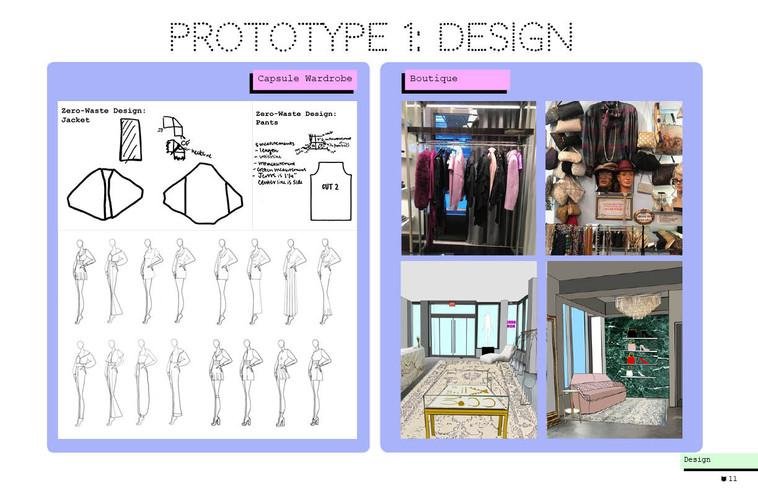 Zero-waste design,  lowsumerism, boutique concept